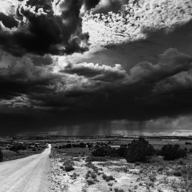 """""""The Coming Monsoon"""" stock image"""