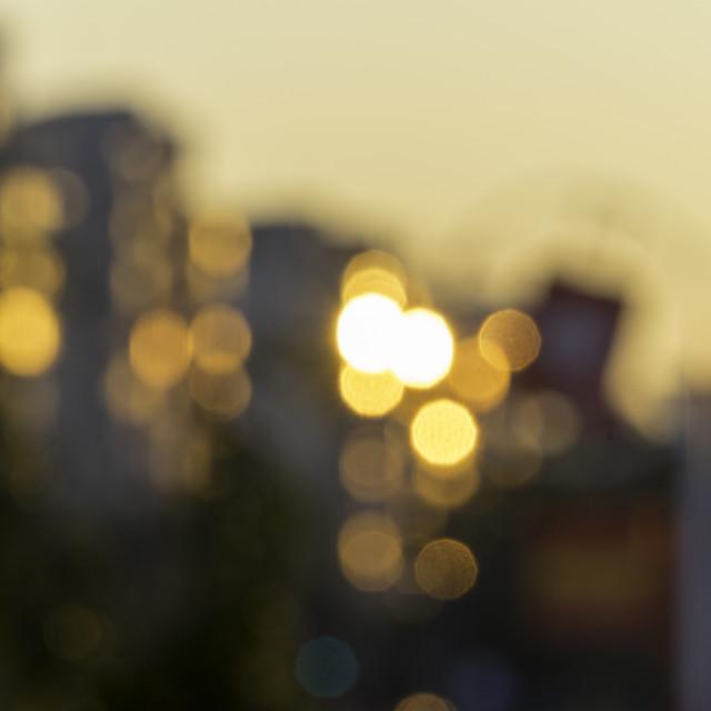 """Blurred Morning"" stock image"