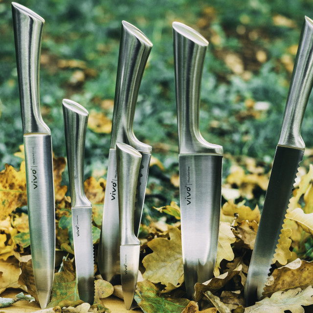 """""""Set of Knives"""" stock image"""