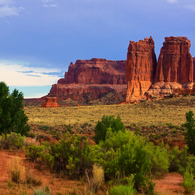 """Arches National Park"" stock image"