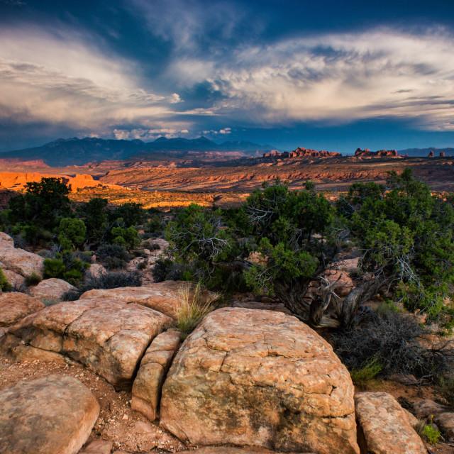 """The Utah Landscape"" stock image"