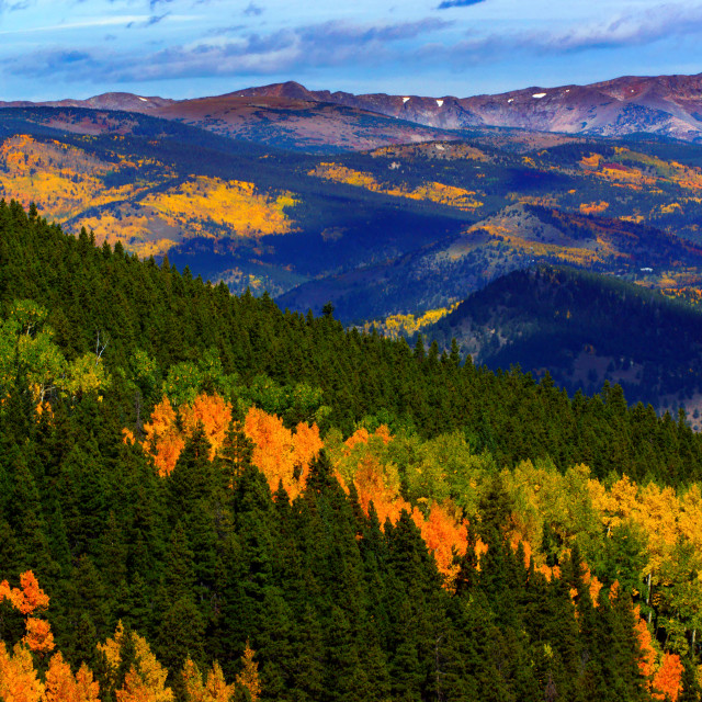 """The Colorful Rockies"" stock image"