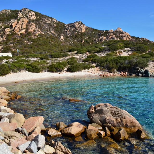 """""""Spargi Island"""" stock image"""