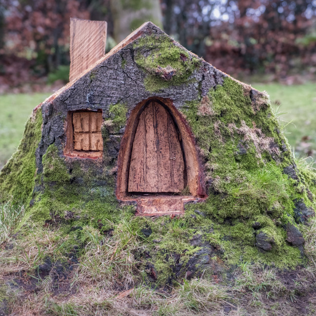 """""""The little house"""" stock image"""