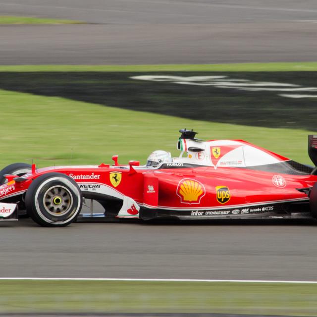 """British Grand Prix, Silverstone 2017"" stock image"