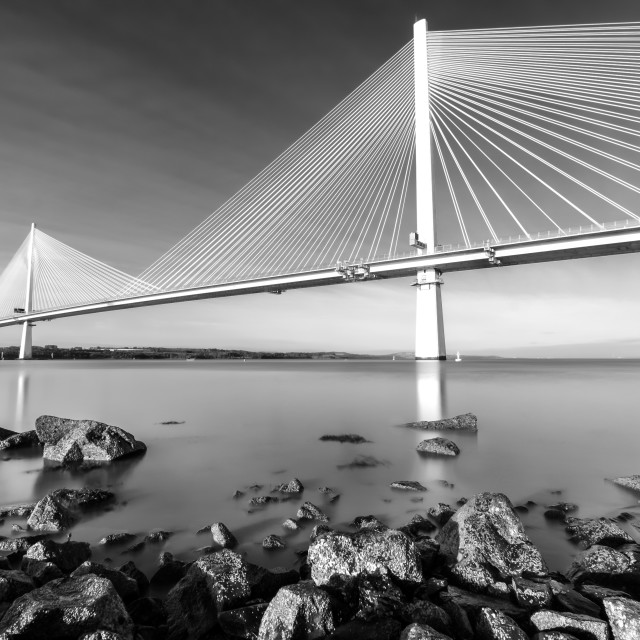 """The Queensferry Crossing 1"" stock image"