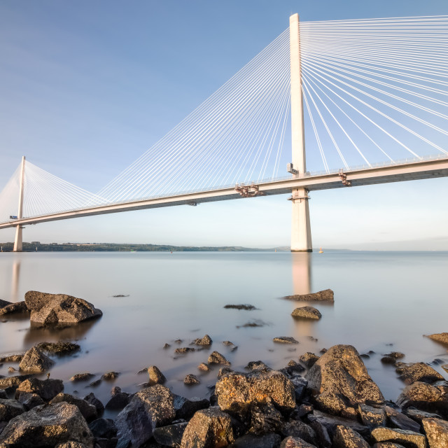 """The Queensferry Crossing 2"" stock image"