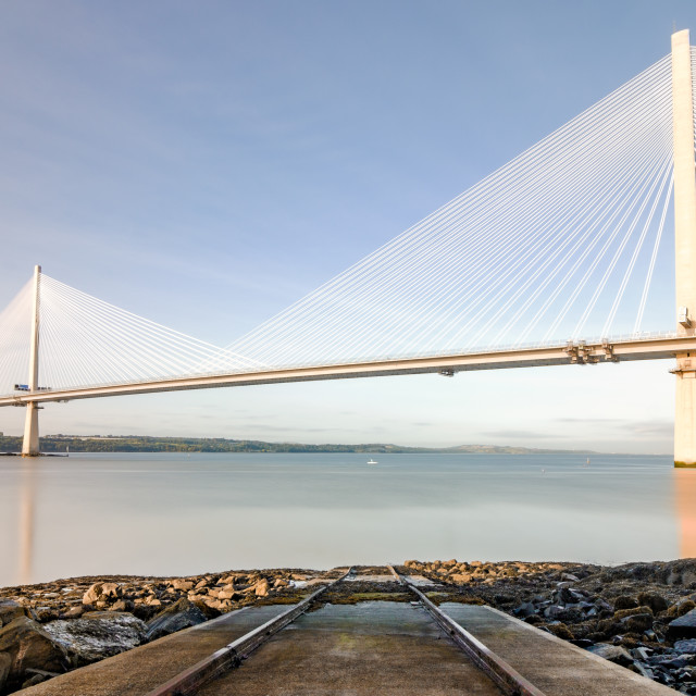 """The Queensferry Crossing 4"" stock image"