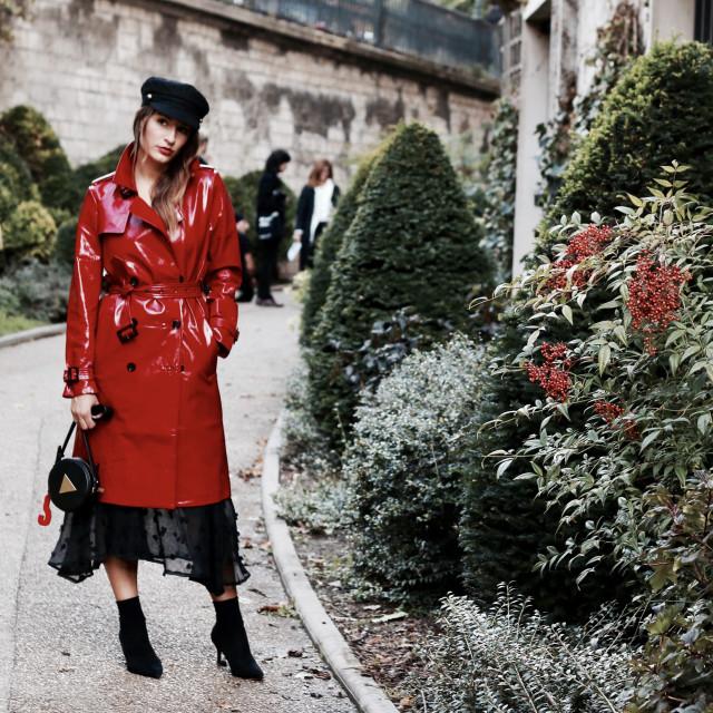 """Paris Fashion Week - Street Style"" stock image"