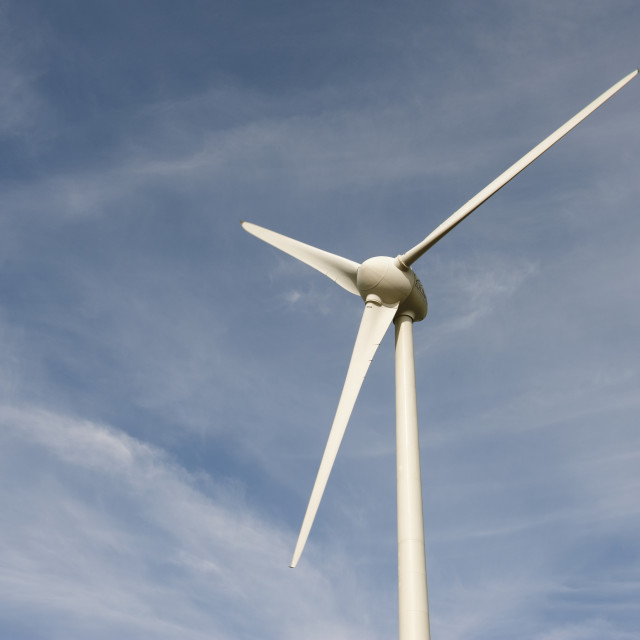 """""""Nieuwpoort Belgium Electrawinds wind turbines."""" stock image"""