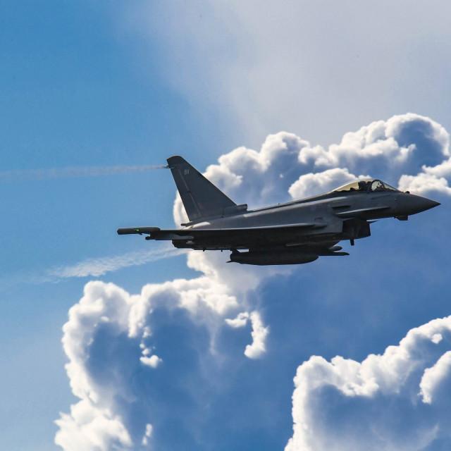 """Eurofighter"" stock image"