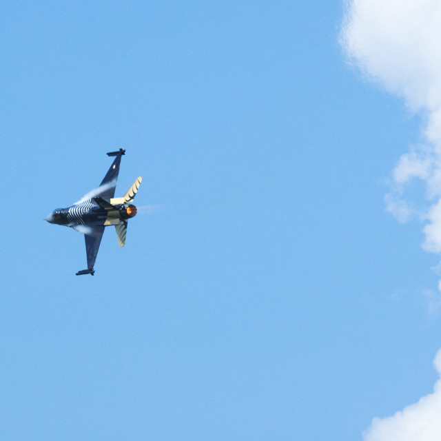 """F-16 flight 4"" stock image"