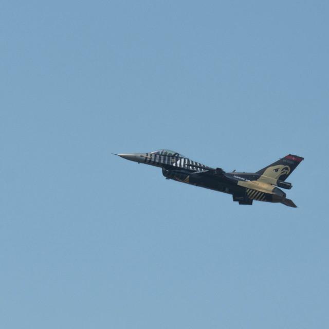 """F-16 flight 3"" stock image"