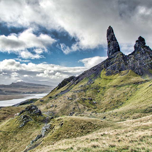 """""""The Old Man of Storr"""" stock image"""