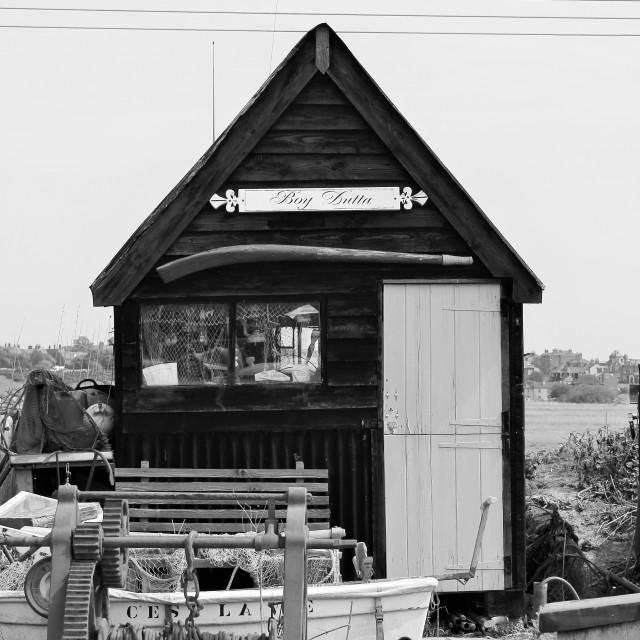 """fishermans hut"" stock image"