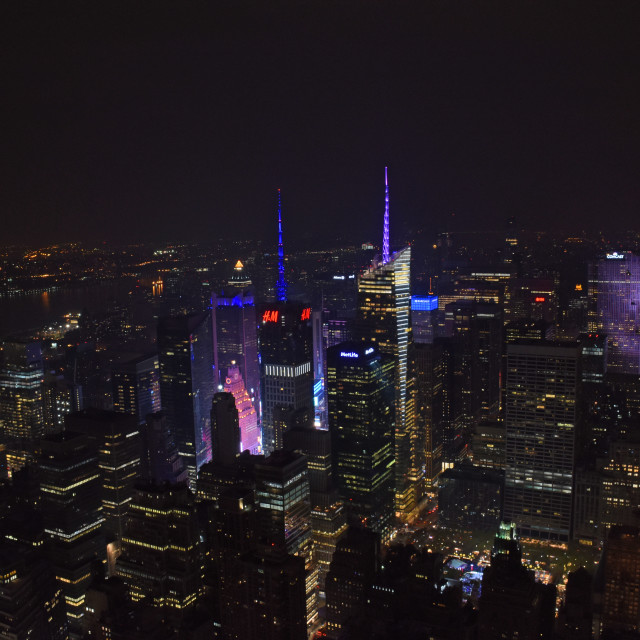 """New York Nights"" stock image"