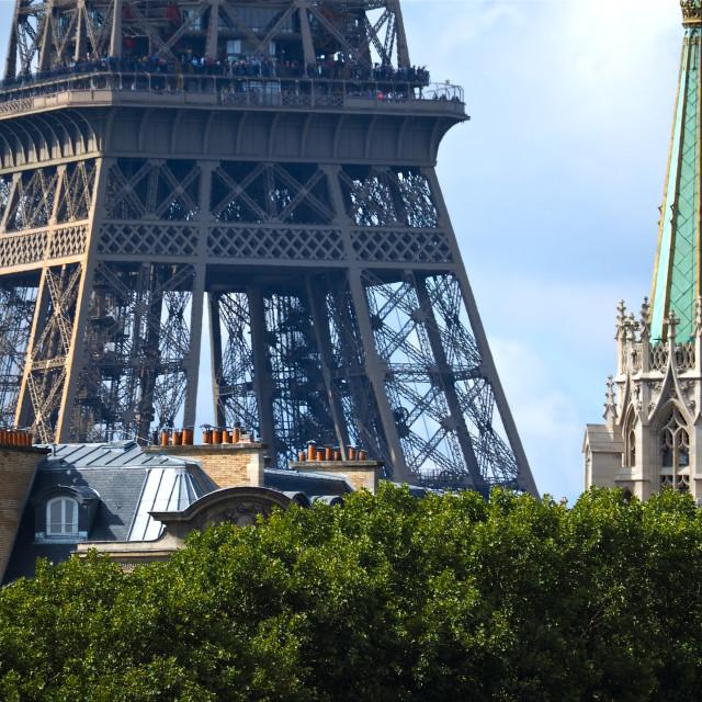 """""""American Church in Paris"""" stock image"""