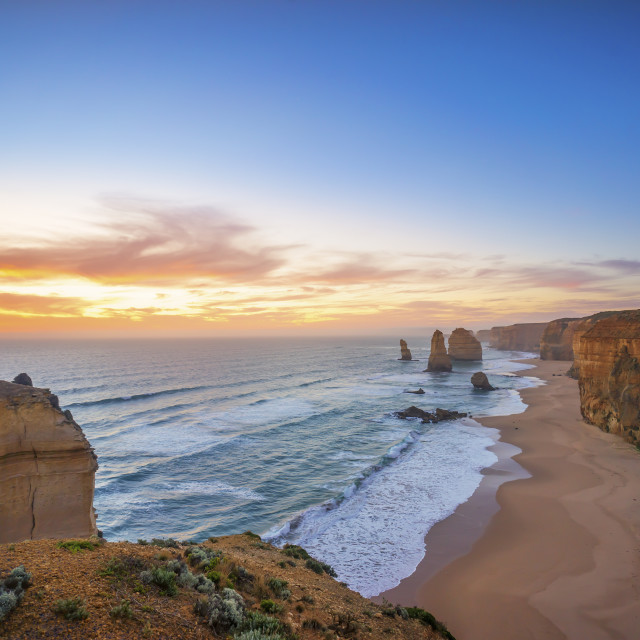 """he Twelve Apostles, Great Ocean Road, Victoria Australia"" stock image"