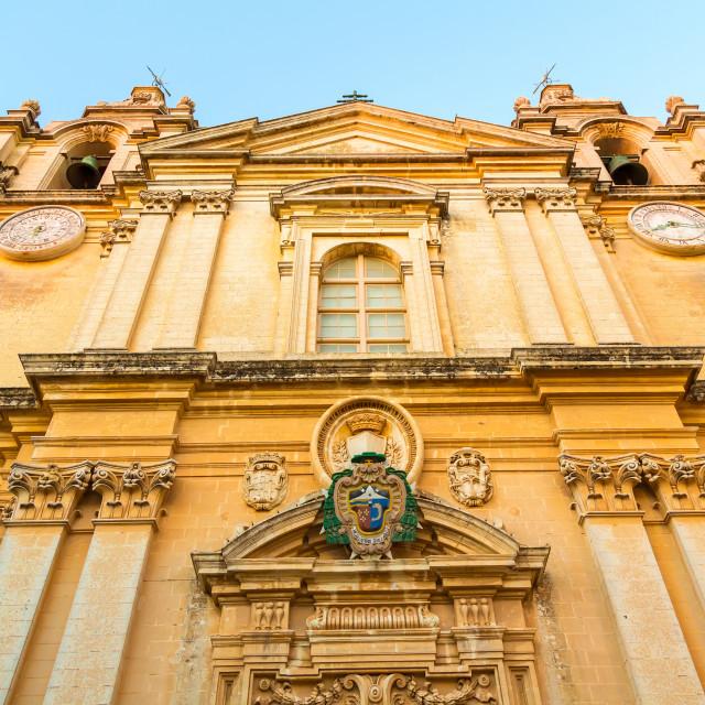 """Historic Architecture in Imdina"" stock image"