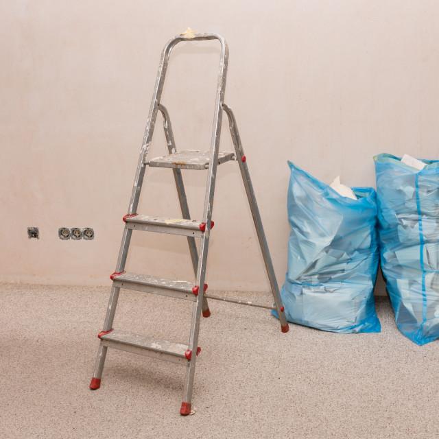 """Renovation work"" stock image"