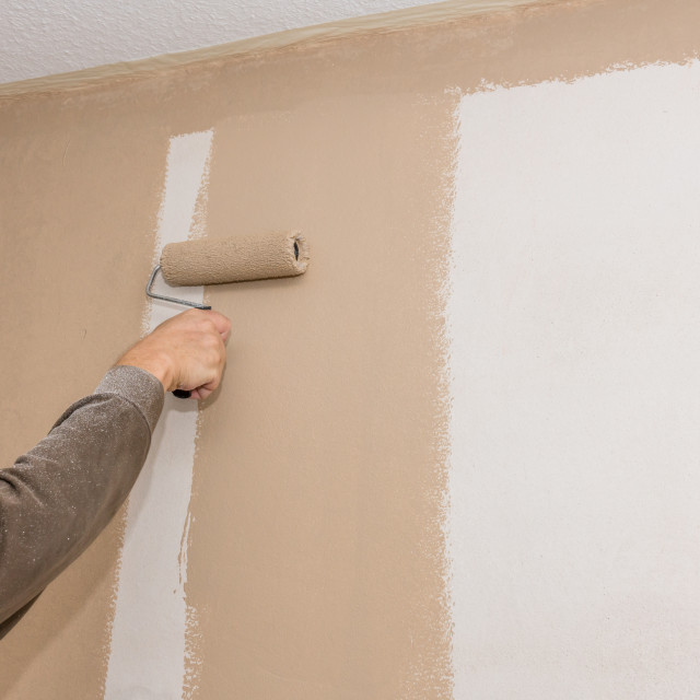 """Painting work"" stock image"