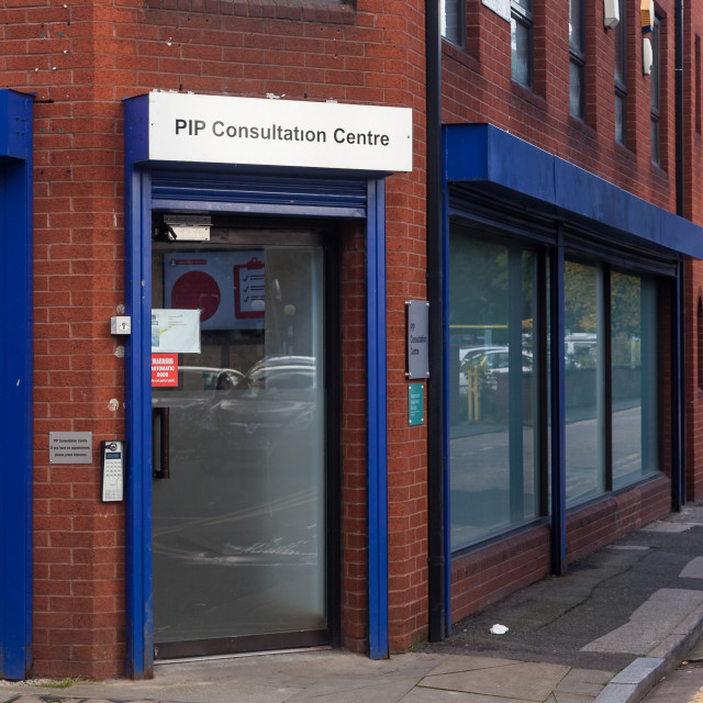 """PIP Assessment Centre"" stock image"