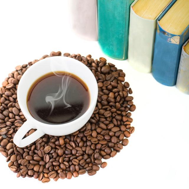 """Hot Coffee"" stock image"