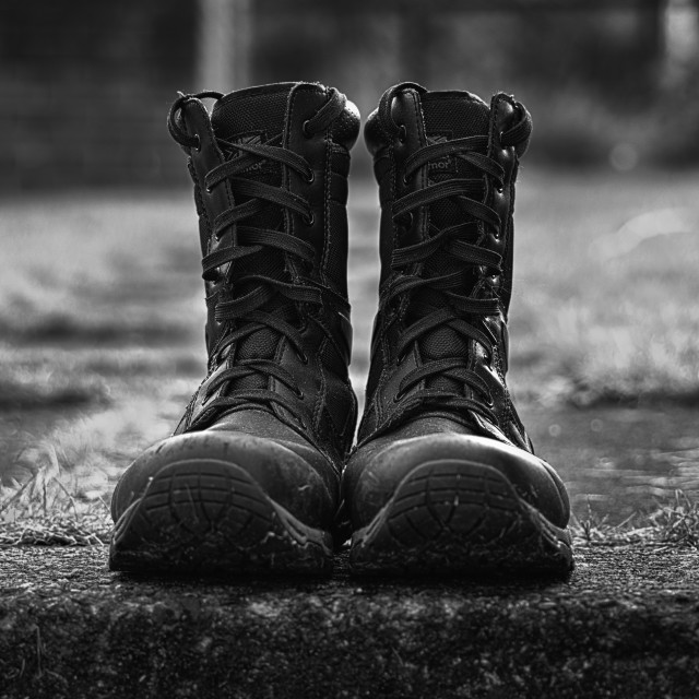 """""""Walking Boots"""" stock image"""