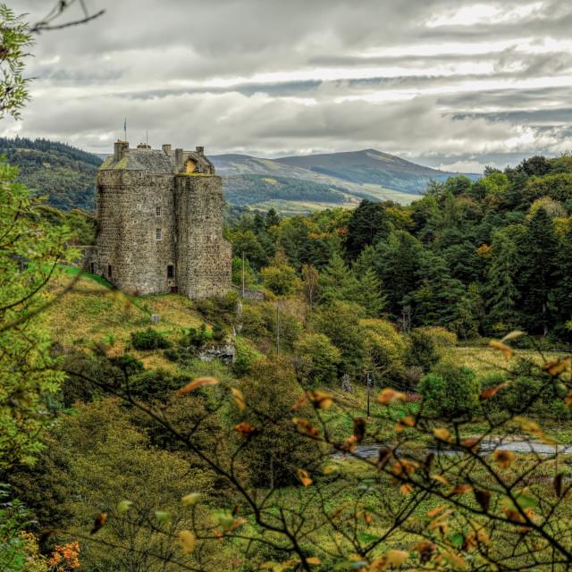 """Autumnal Castle"" stock image"