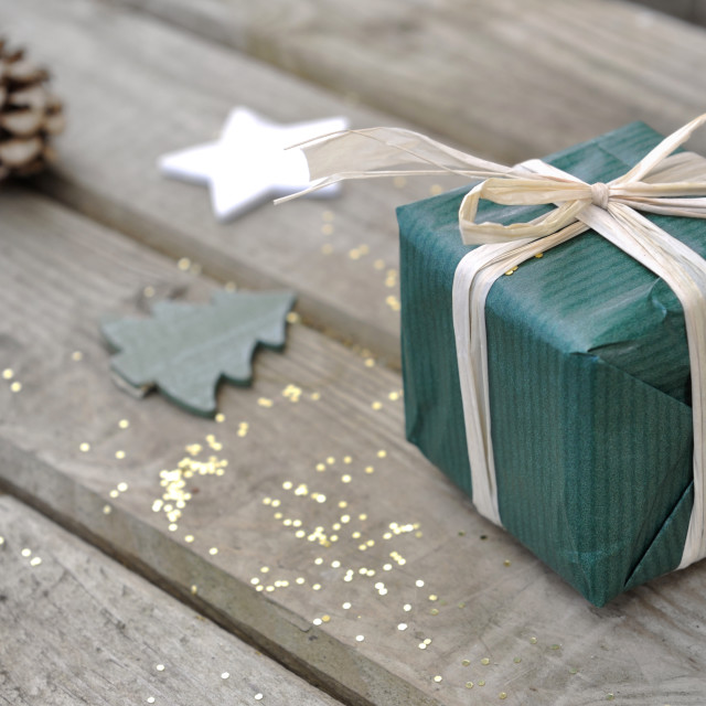 """little christmas gift"" stock image"