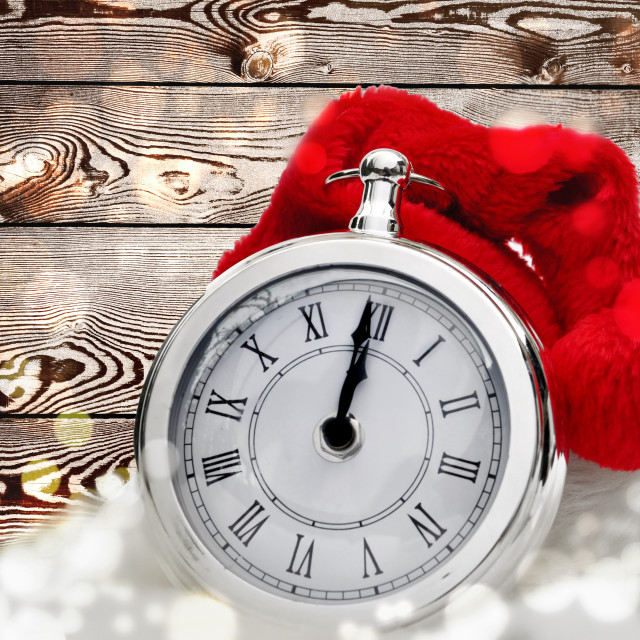 """clock for new year celebration"" stock image"