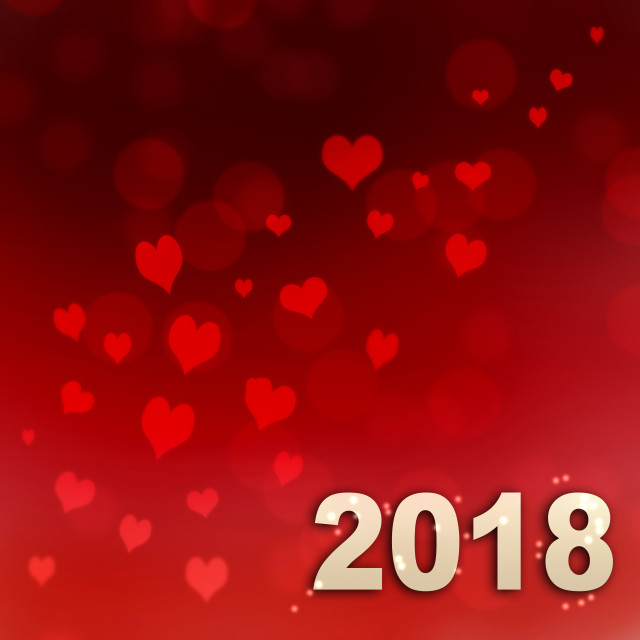 """new year 2018"" stock image"