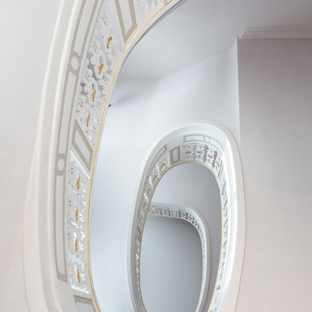 """Marsh mellow stair"" stock image"