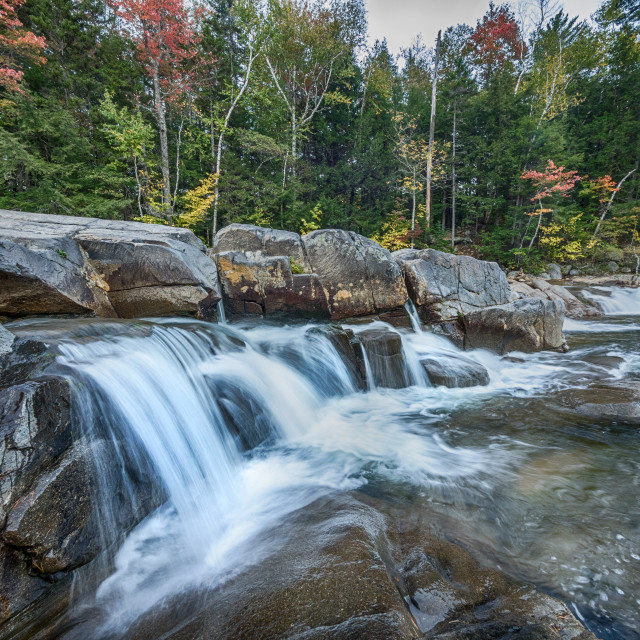 """Autumn waterfall"" stock image"