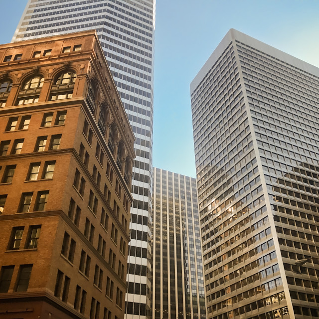 """San Francisco Skyline"" stock image"