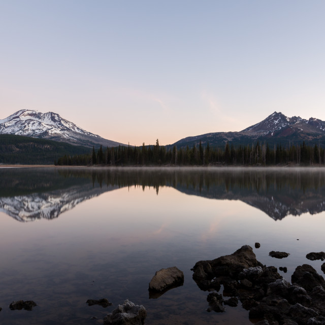 """Sparks Lake Sunrise"" stock image"