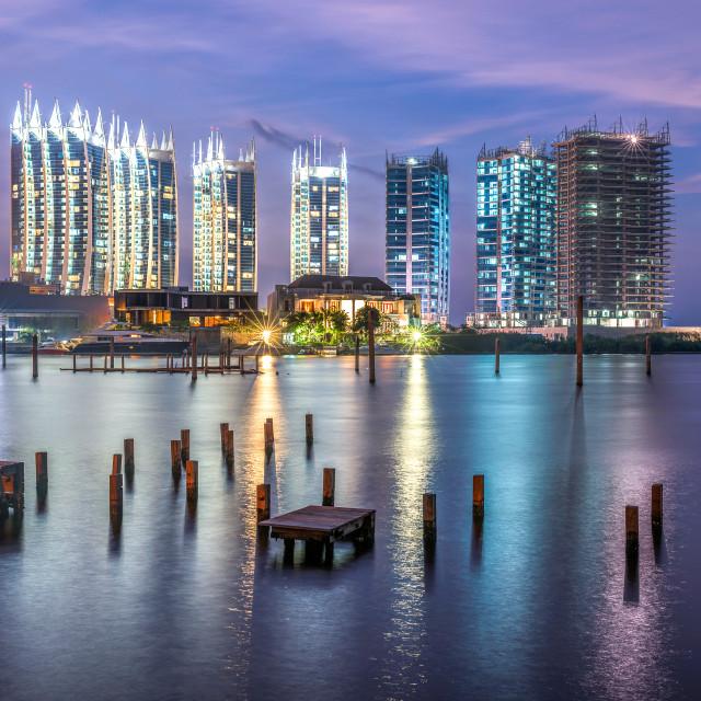 """Jakarta: Regatta Apartment 1"" stock image"