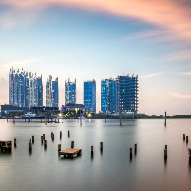"""Jakarta: Regatta Apartment 3"" stock image"