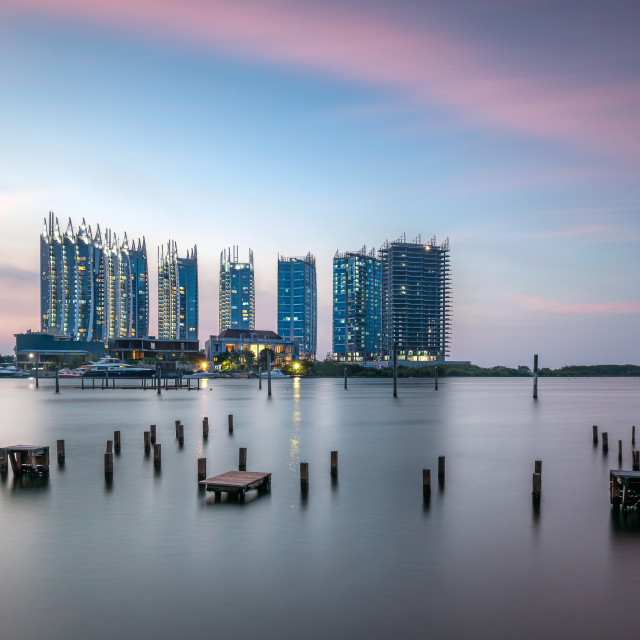 """Jakarta: Regatta Apartment 2"" stock image"