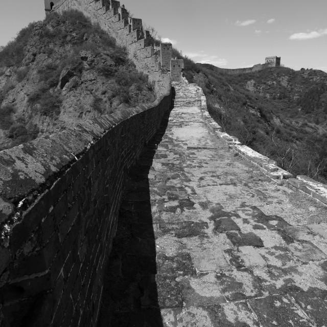 """""""The Great Wall of China near Jinshanling village, Beijing Provence, China, Asia."""" stock image"""