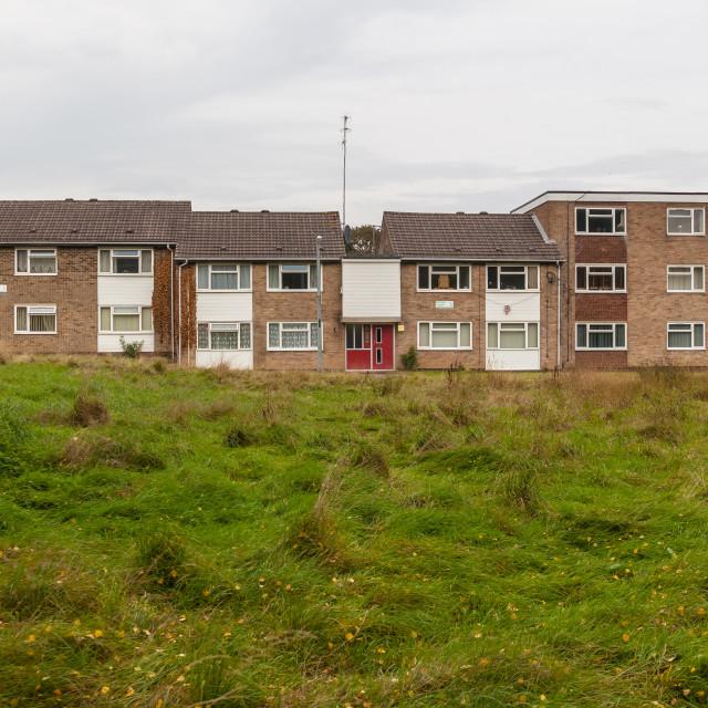 """Social Housing Flats"" stock image"