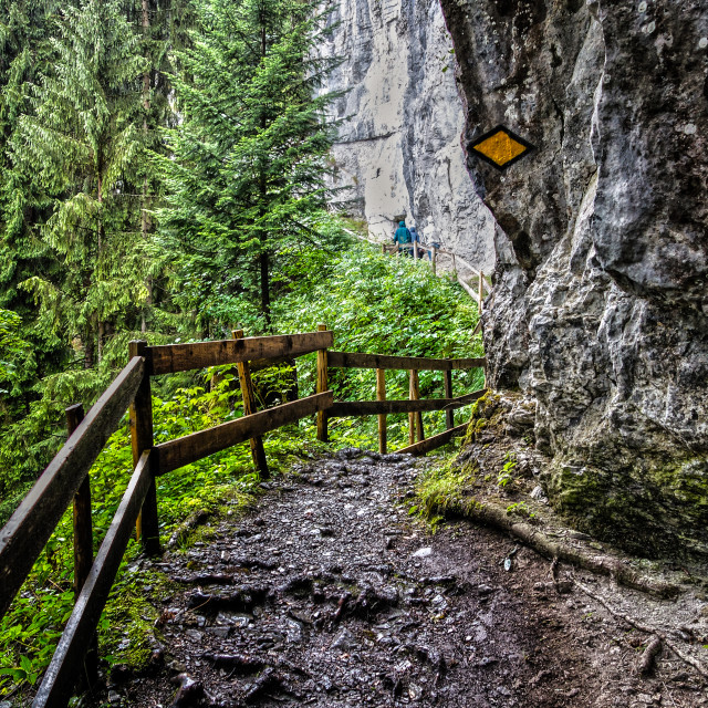 """Mountain path"" stock image"