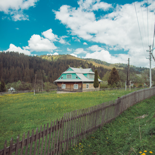 """Carpathian Mountains, Ukraine (Part 2)"" stock image"