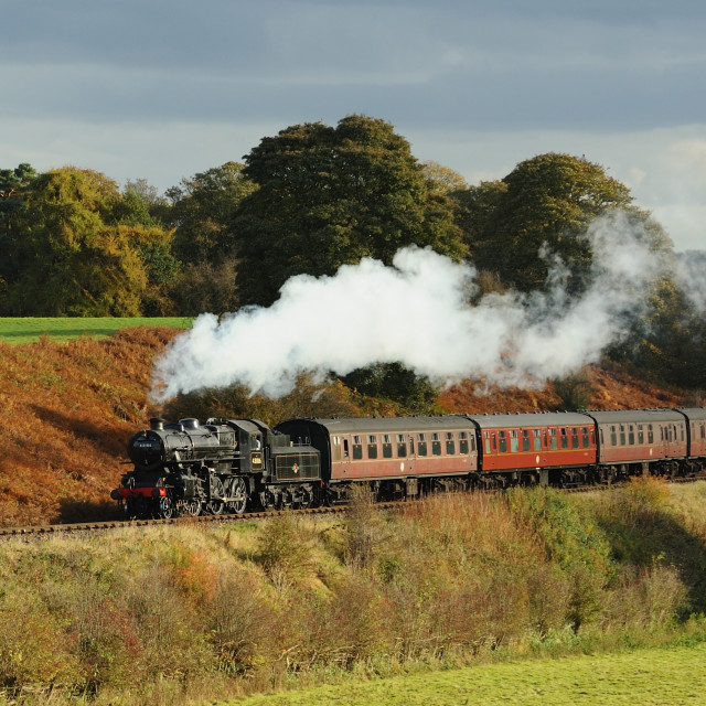 """Severn Valley Autumn"" stock image"
