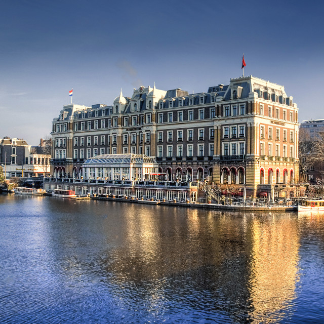 """Amstel hotel Amsterdam"" stock image"