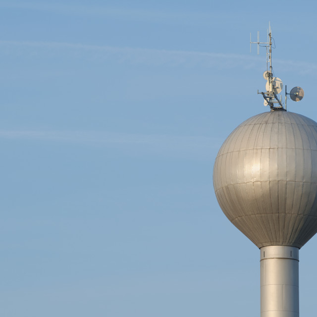 """Water Tower Closeup"" stock image"