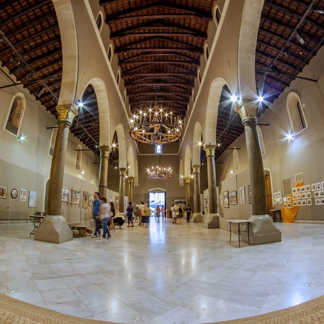 """""""St Markus Basilica Heraklion"""" stock image"""