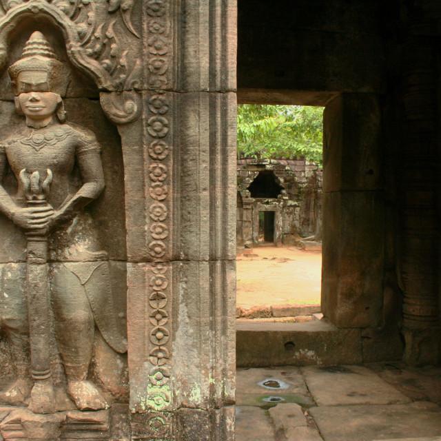 """""""Ta Som temple, Angkor, Cambodia"""" stock image"""