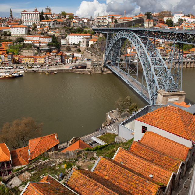 """Porto in Portugal Historic City Centre"" stock image"