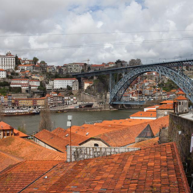 """Old City of Porto in Portugal"" stock image"